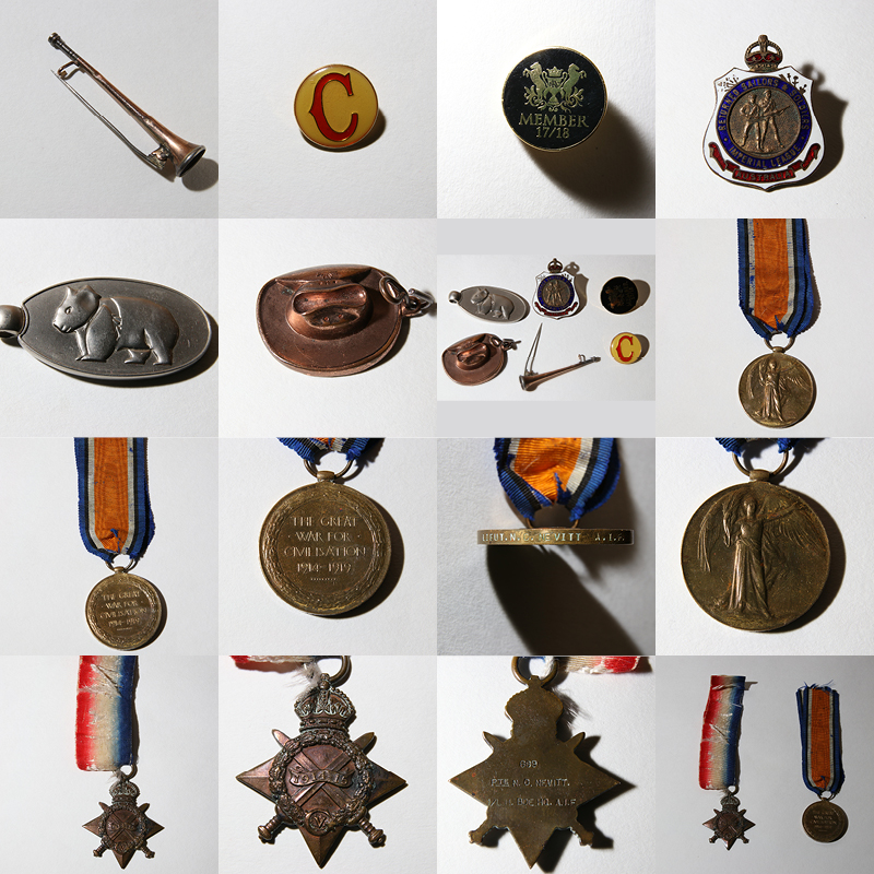 Lost-First-Light-Horse-Medals-Redcliffe